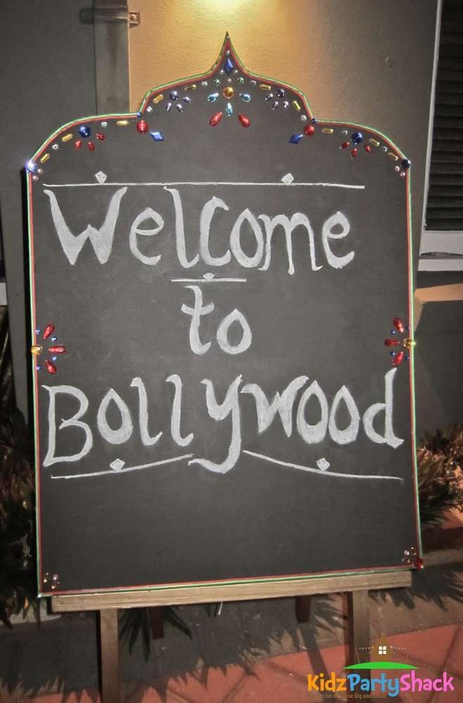 Bollywood Birthday Party Ideas | Photo 6 of 15 | Catch My Party