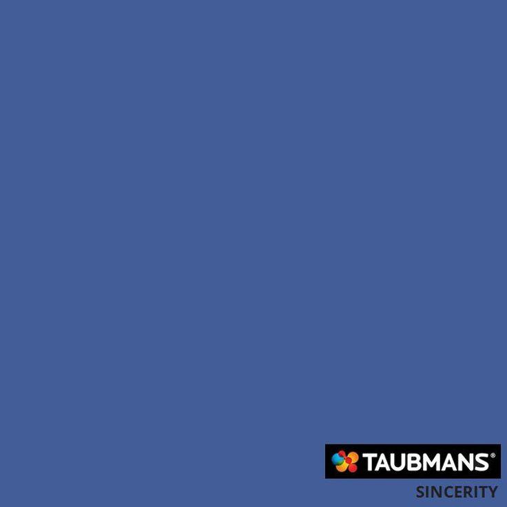 #Taubmanscolour #sincerity