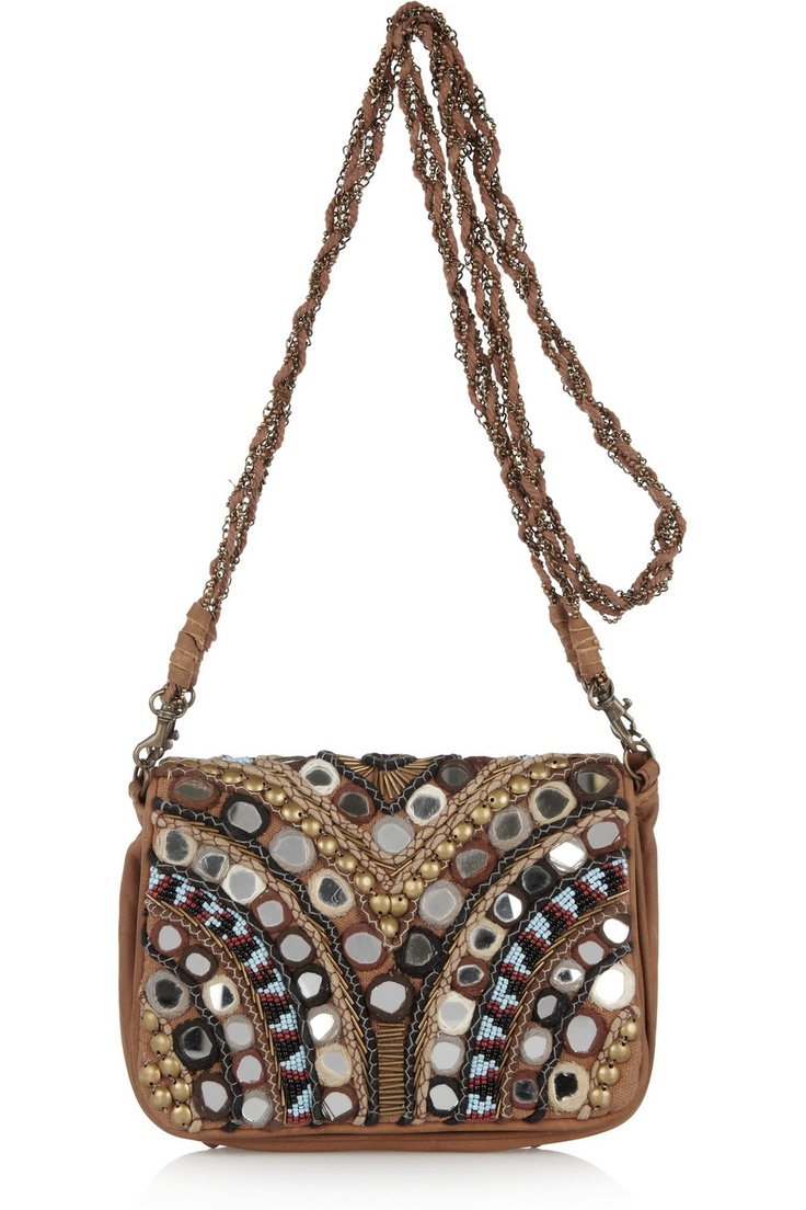 Orelia embellished shoulder bag by Antik Batik