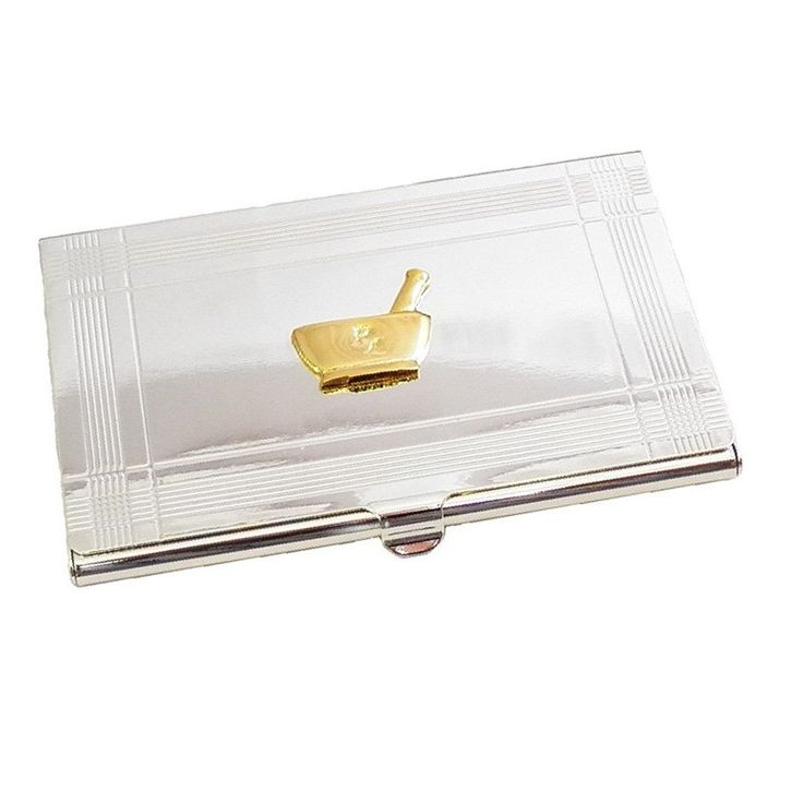 Have to have it. Bey-Berk D156P Pharmacy Business Card Case - $29.99 @hayneedle