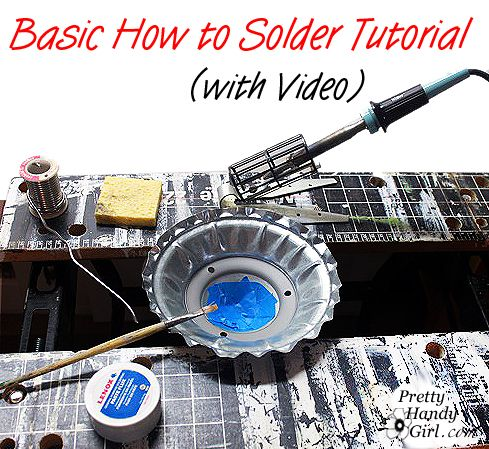 How to Solder Tutorial (with video)