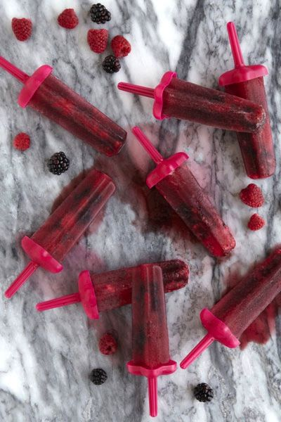 Mixed-Berry Pinot Noir Pops
