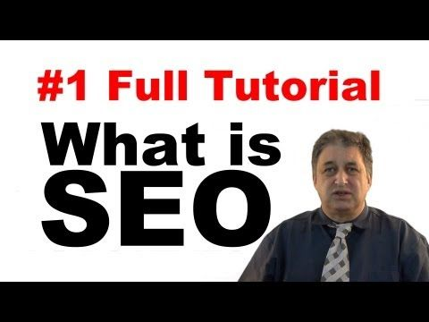 The Free Seo video Tutorials in this 3 hours, course will explain what Seo is all about and introduce you to the basic concepts. You will learn some of the principles of Good Seo and also learn that Bad Seo can actually harm your website listing within Google. Video Tutorial #1 - What is SEO?