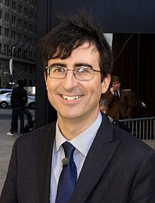 "John Oliver | I've never laughed as hard as when I heard his bit ""Creative Thinking."" Fantastic stand up, brilliant correspondent/ guest host on The Daily Show."