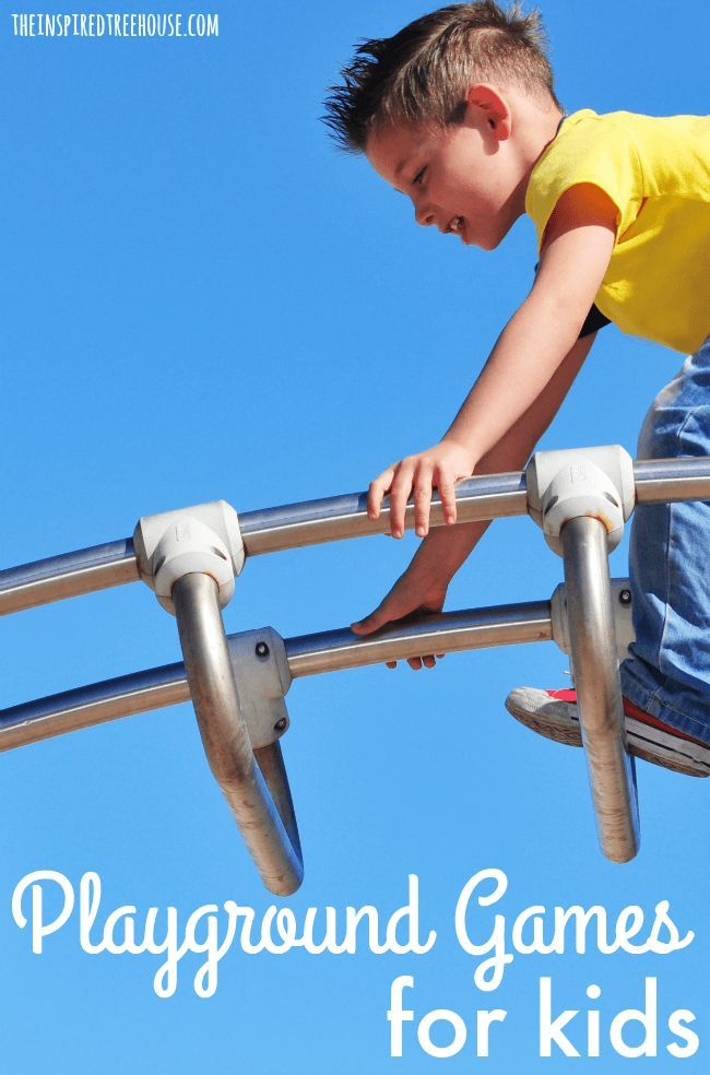 The Inspired Treehouse PLAYGROUND GAMES AND ACTIVITIES FOR KIDS THAT