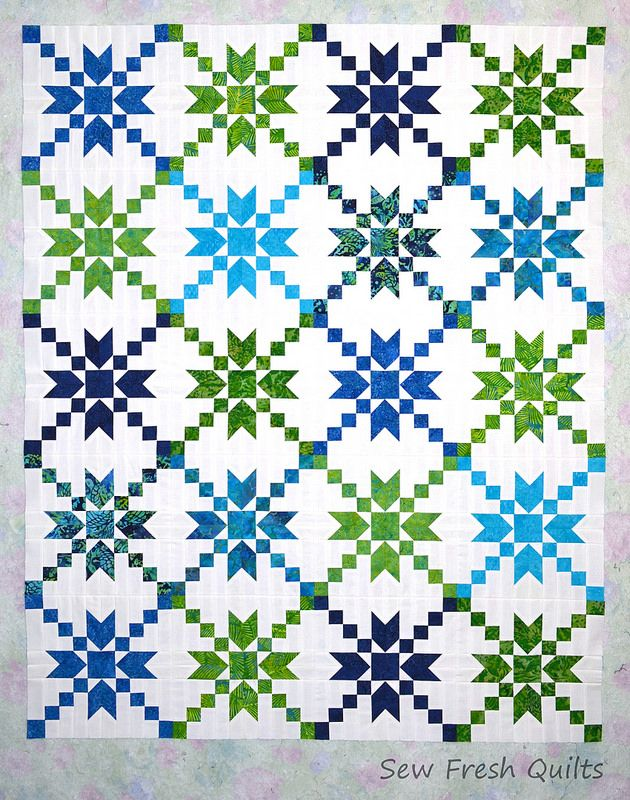 Stepping Stones Negative top | by Sew Fresh Quilts - Lorna McMahon