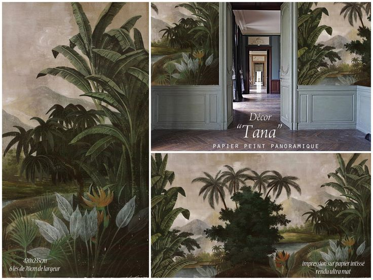 Paysages Colorés   Tana   Couleur 420x235   Ultra Mat   4 Lés De 105cm.  Painted WallsPainted Wall MuralsMural WallWallpaper MuralsFabric ... Part 72