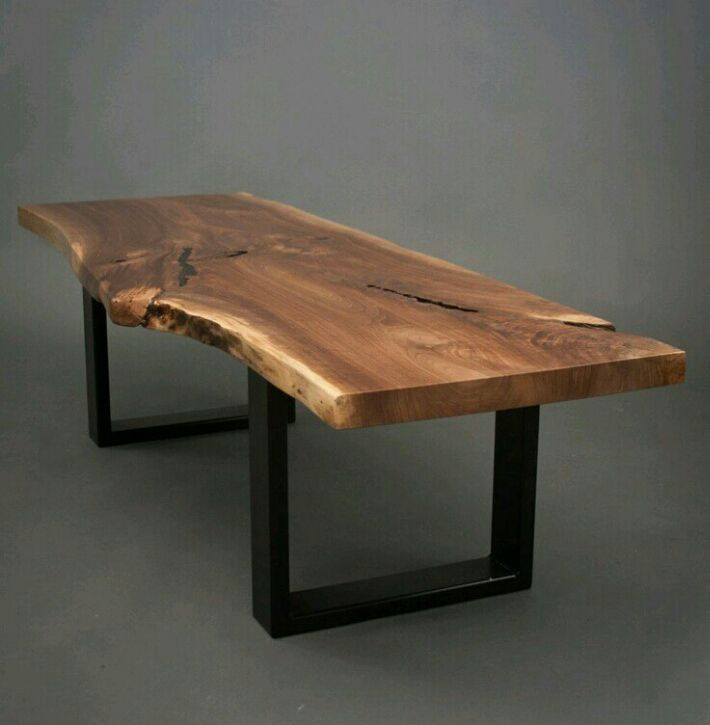 Exotic Live Edge Suar Wood Conference Table Slab