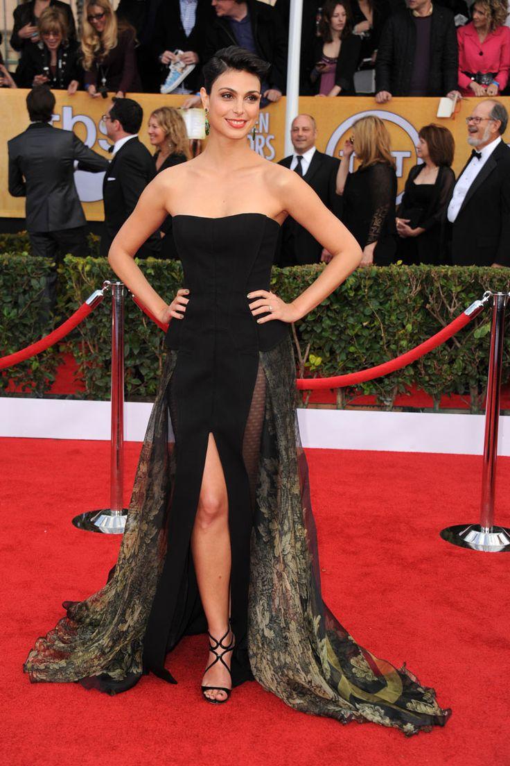 Todas las fotos de la alfombra roja de los Screen Actors Guild Awards 2013: Morena Baccarin de Basil Soda | Galería de fotos 23 de 34 | Vogue