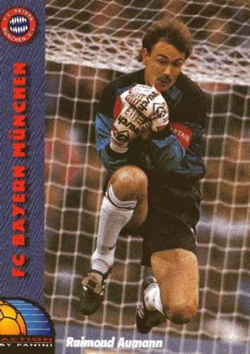 Bayern Munich goalkeeper Raimond Aumann in 1993.