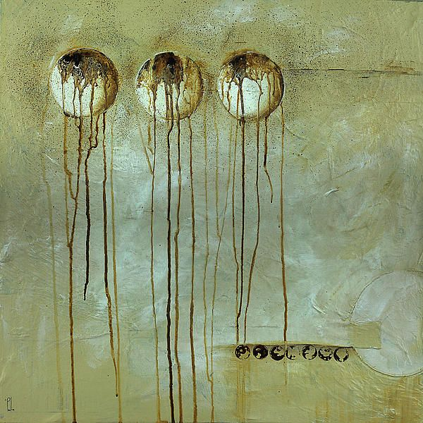Orbs # 1 by Cheryl Poulin - Orbs # 1 Mixed Media - Orbs # 1 Fine Art Prints and Posters for Sale