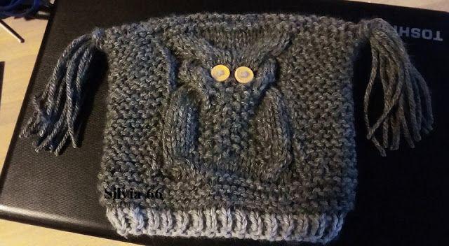 I gomitoli di silvia: Cappello gufo a maglia