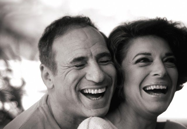 """I get excited when I hear his key in the door. It's like, 'Ooh! The party's going to start.' "" - Anne Bancroft about long-time husband Mel Brooks"