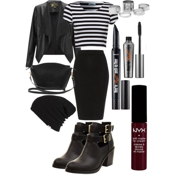 A fashion look from November 2014 featuring Lipsy jackets, Jaeger skirts and Lost Property of London handbags. Browse and shop related looks.