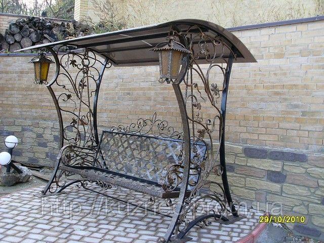 садовые качели кованые - Поиск в Google