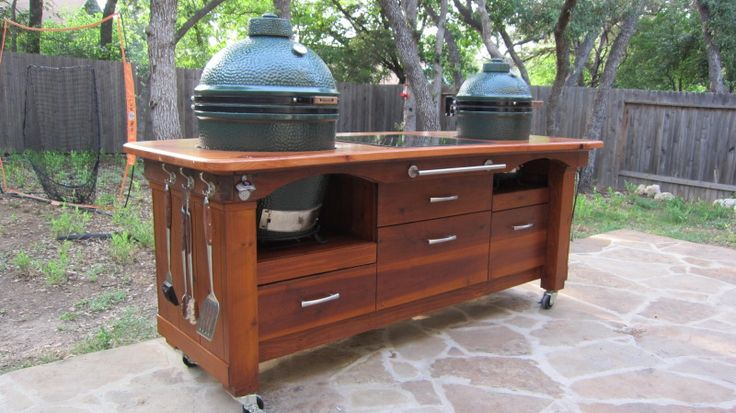 My table is finally home and egged! (lots of pics) - Big Green Egg - EGGhead Forum - The Ultimate Cooking Experience...