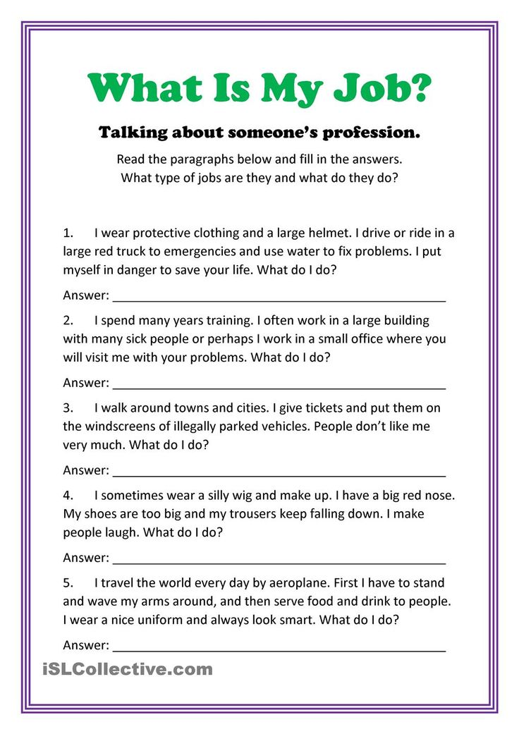 Fun Career Worksheets : Best career day ideas images on pinterest