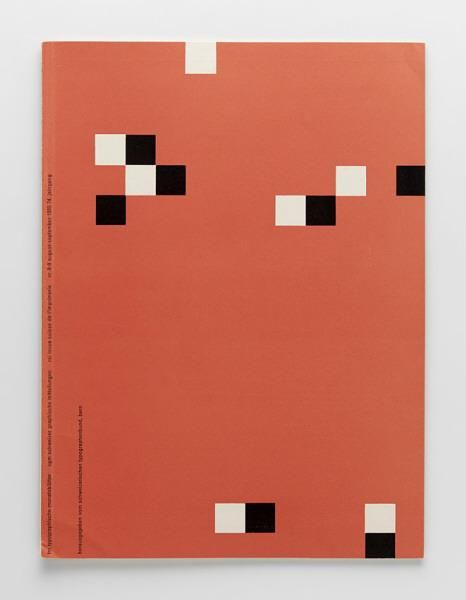 TM Typographische Monatsblätter, issue 8/9, 1955. Cover designer: Emil Ruder
