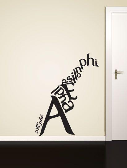 Alpha Epsilon Phi Giraffe Decal - Alpha Epsilon Phi - Greek