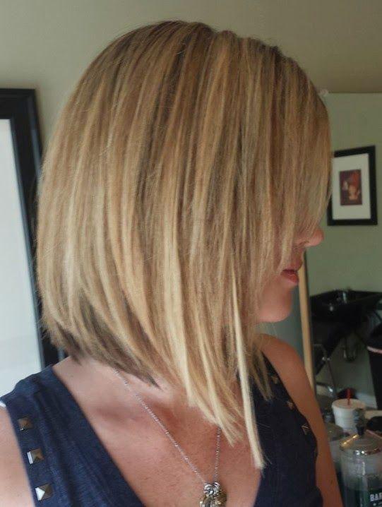 Strange 1000 Ideas About Medium Inverted Bob On Pinterest Bobs For Fine Short Hairstyles Gunalazisus
