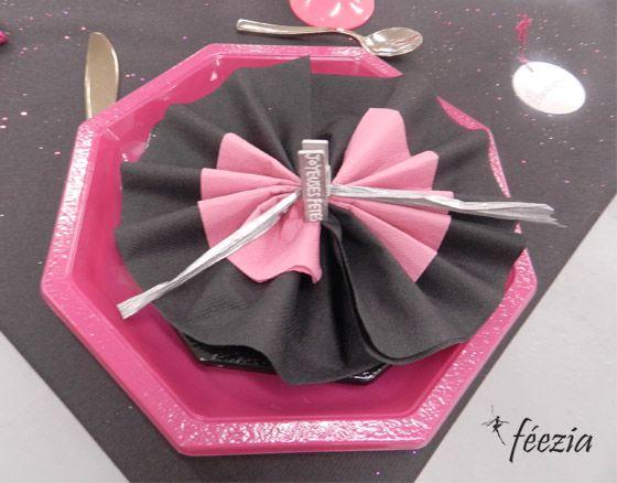 13 best pliage serviettes images on pinterest how to - Decoration table communion fille ...