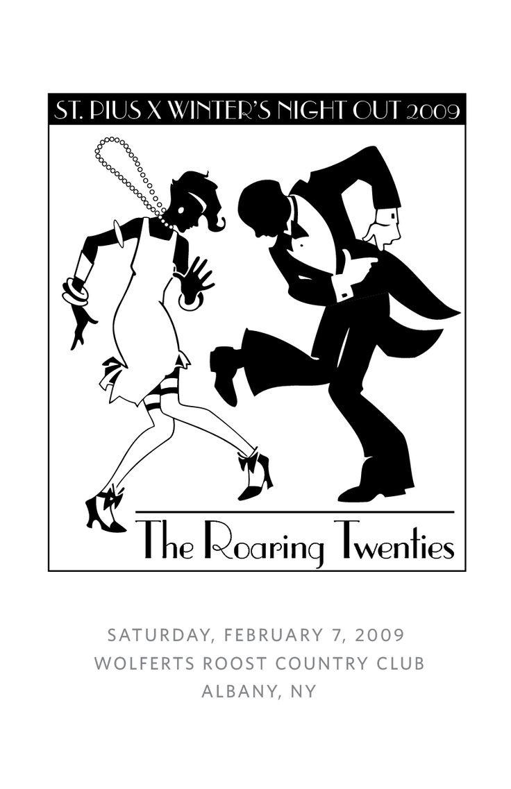 roaring 20's decorations | The Roaring Twenties ST PIUS