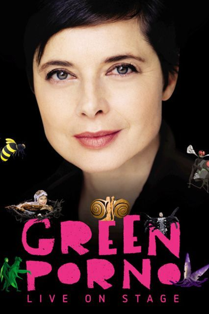 Isabella Rossellini's Green Porno Live! (2015)Film icon Rossellini mimics different animals' mating habits in the name of sexual science. Yes, you read that correctly. No, this is not a prank. Available October 15 #refinery29 http://www.refinery29.com/2015/09/94815/whats-coming-to-netflix-in-october#slide-77