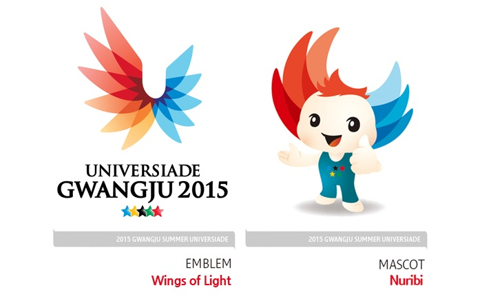 2015 Gwangju Summer Universiade Symbols applied for trademarks registration at home and abroad
