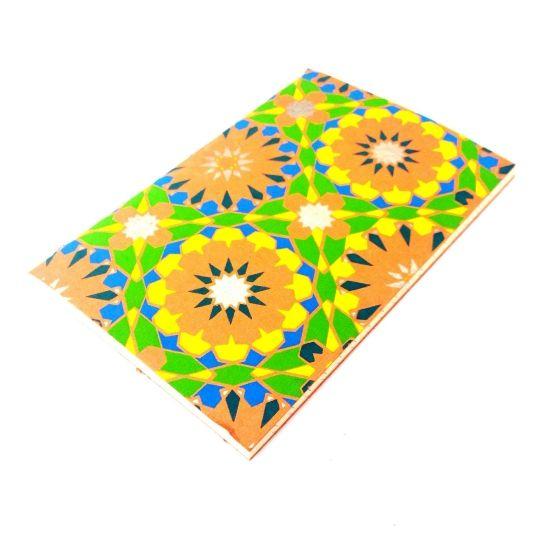 Boho Notebook-£3 #prettytwisted #notebook #boho #present http://prettytwistedonline.co.uk/product/boho-patterned-notebook-2/