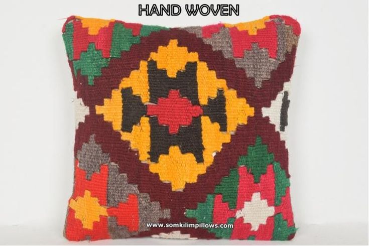 Kilim Pillow Cover Victorian Throw Pillow Case