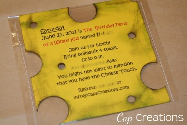Diary of a Wimpy Kid Party - lots of great ideas that would be fun for a Wimpy Kid movie party this summer!