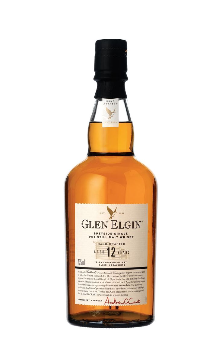 Glen Elgin - 12 YO - On the nose some honey sweetness, (bourbon?). It is light and a little dry. I also get some liquorice.  The taste is light with some sweetness and spices (peppery). It is a little dry. Finish is a bit dry and flat with a short to medium length.  77/100