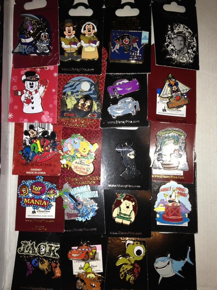 Disney Pin Collection | Disney | Pinterest