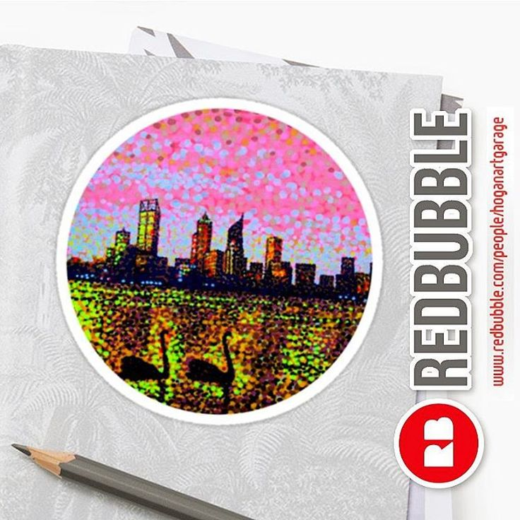Sold!!! 😊 ..thanks to the person in Australia who just bought this 'Golden Skyline Perth' sticker design from my @redbubble store!    http://www.redbubble.com/people/hoganartgarage  #paintings #artist #redbubblestickers #australia #perthwa #art #perthskyline #stickers #oz #perth #aussie #sold #sales #perthart #thankyou #gday #goodonya #nagohnala #hogan #blackswan #artofvisuals