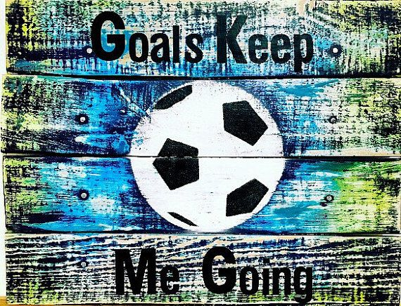 Soccer Sign Soccer Decor Soccer Girls Bedroom by TamieMarieDesign