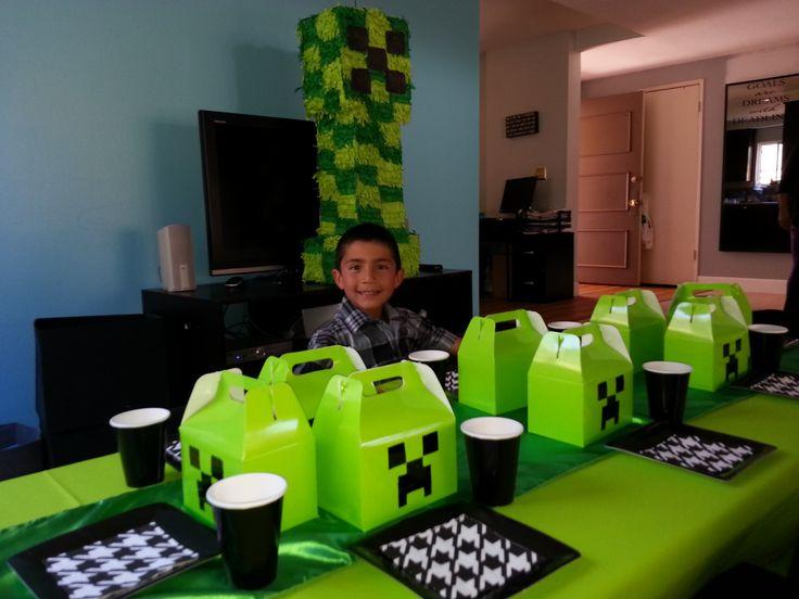 30 best minecraft party images on birthdays birthday