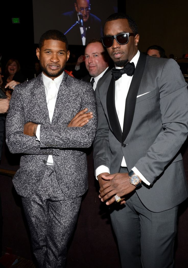 """Usher And Sean """"Diddy"""" Combs 