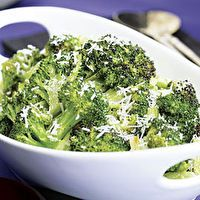 Roasted Broccoli with Lemon & Pecorino by Fine Cooking