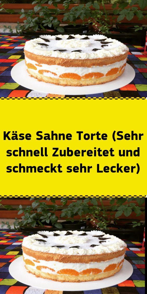 Käse Sahne Torte (Sehr schnell Zubereitet und schmeckt sehr Lecker) – NUR FÜR DICH