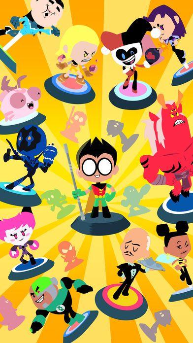 Minititanes - Teen Titans Go en App Store http://apple.co/2qTPTiM