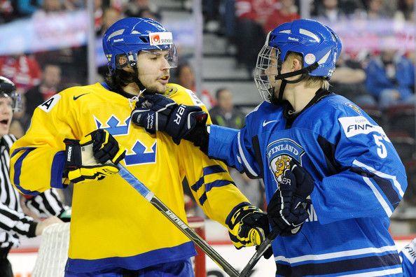 Rasmus Ristolainen - 2012 World Junior Hockey Championships - Semifinals - Sweden v Finland
