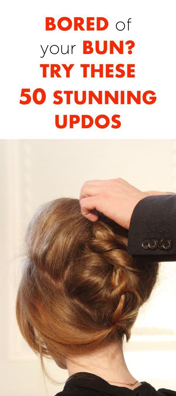 Bored of Your Bun? Try These 50 Stunning Updos