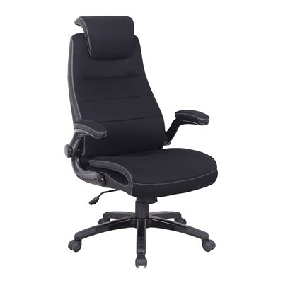 Brassex 720-BLK Executive Adjustable Office Chair with Gas Lift