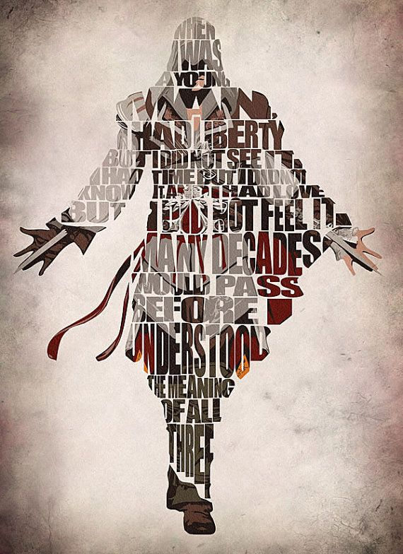 Assassin's Creed Inspired Poster Ezio Auditore da by GeekMyWalL