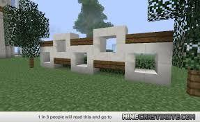 Image Result For Minecraft Modern Fence Designs Minecraft
