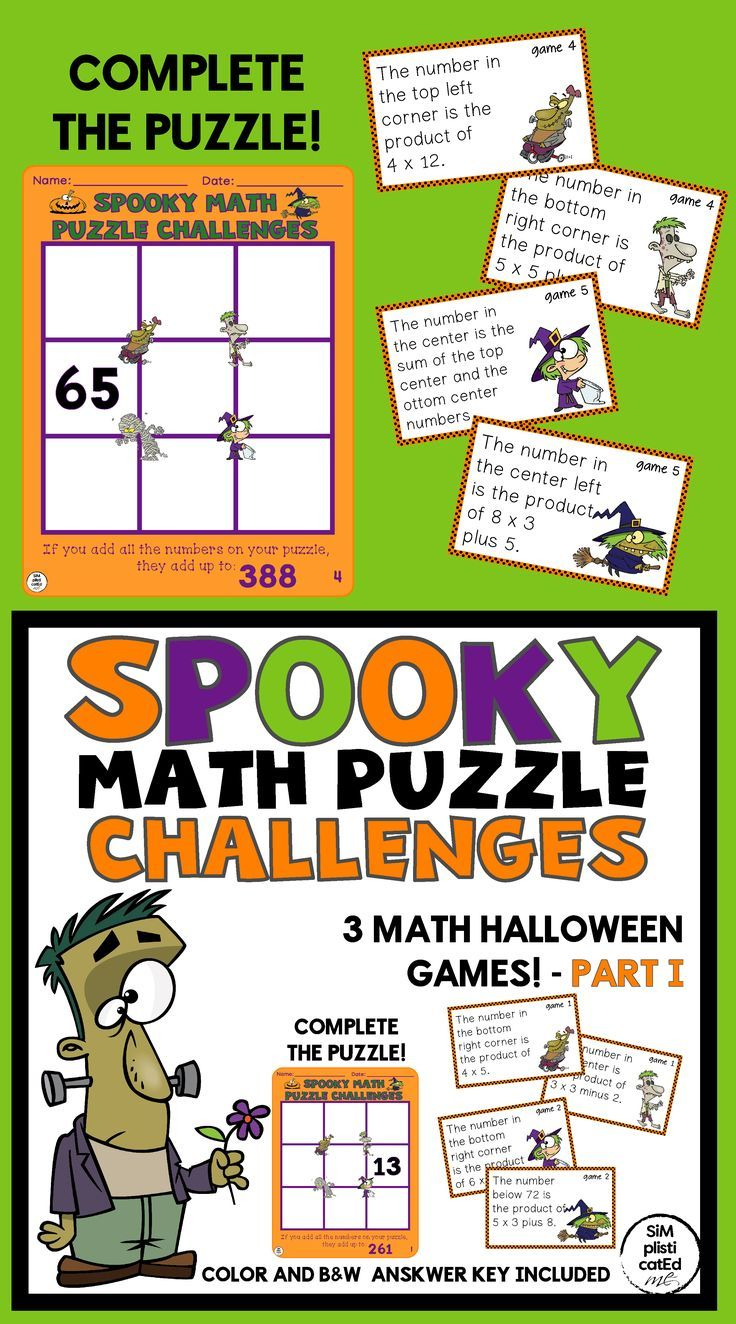 Have Your Kids Challenged Themselves This Halloween With This Resource They Will Be Developing A Growth Mindset B Math Challenge Math Addition And Subtraction Addition and subtraction challenges
