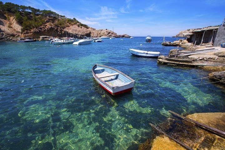 Strand Cala Vadella Ibiza