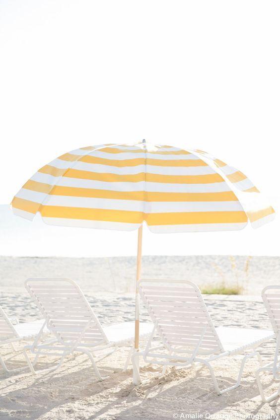 Gasparilla Inn in Boca Raton, Florida | Yellow and White Umbrella, Travel Inspiration