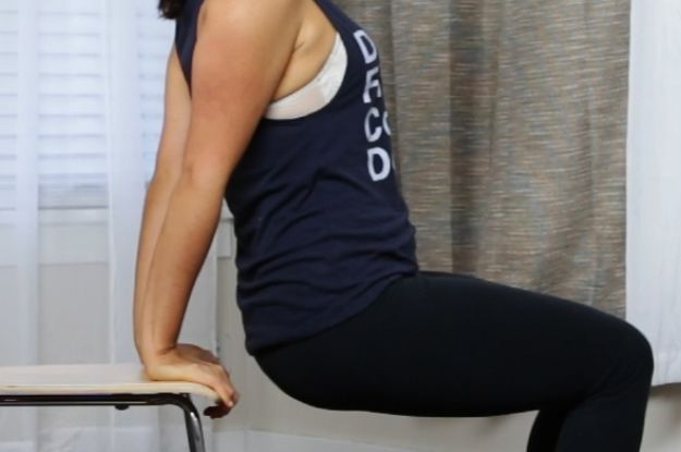 You Can Do This Work Out With Only A Chair