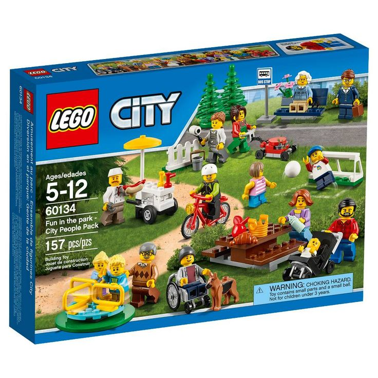 LEGO® City Fun in the park - City People Pack 60134. Image 1 of 11.